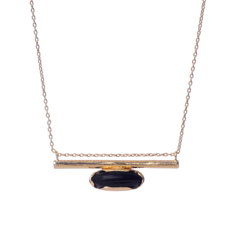 Horizon Line Necklace - Gold - Bing Bang NYC - 1