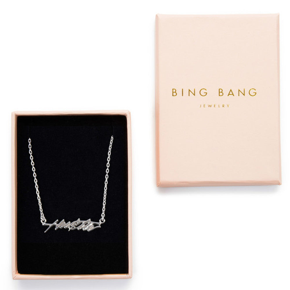 ✨14k Hustle Necklace - Bing Bang Jewelry NYC