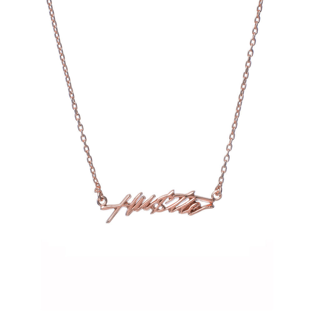 Hustle Necklace - Bing Bang Jewelry NYC