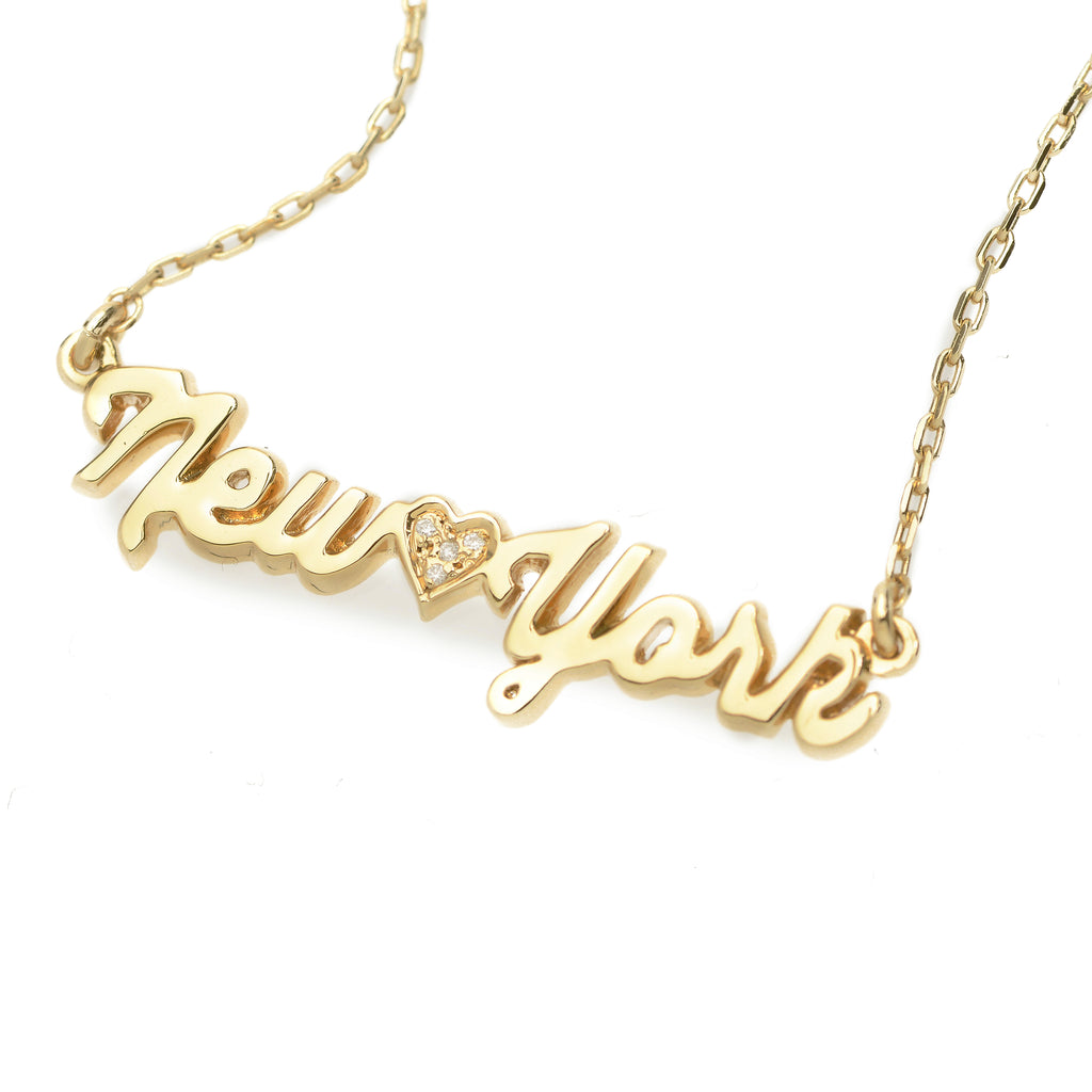 New York Necklace - Bing Bang Jewelry NYC