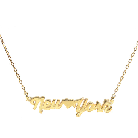 New York Necklace - Bing Bang NYC