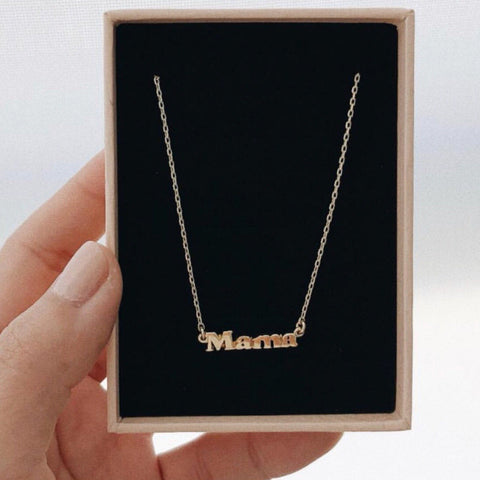 ✨14k Mama Necklace - Bing Bang Jewelry NYC