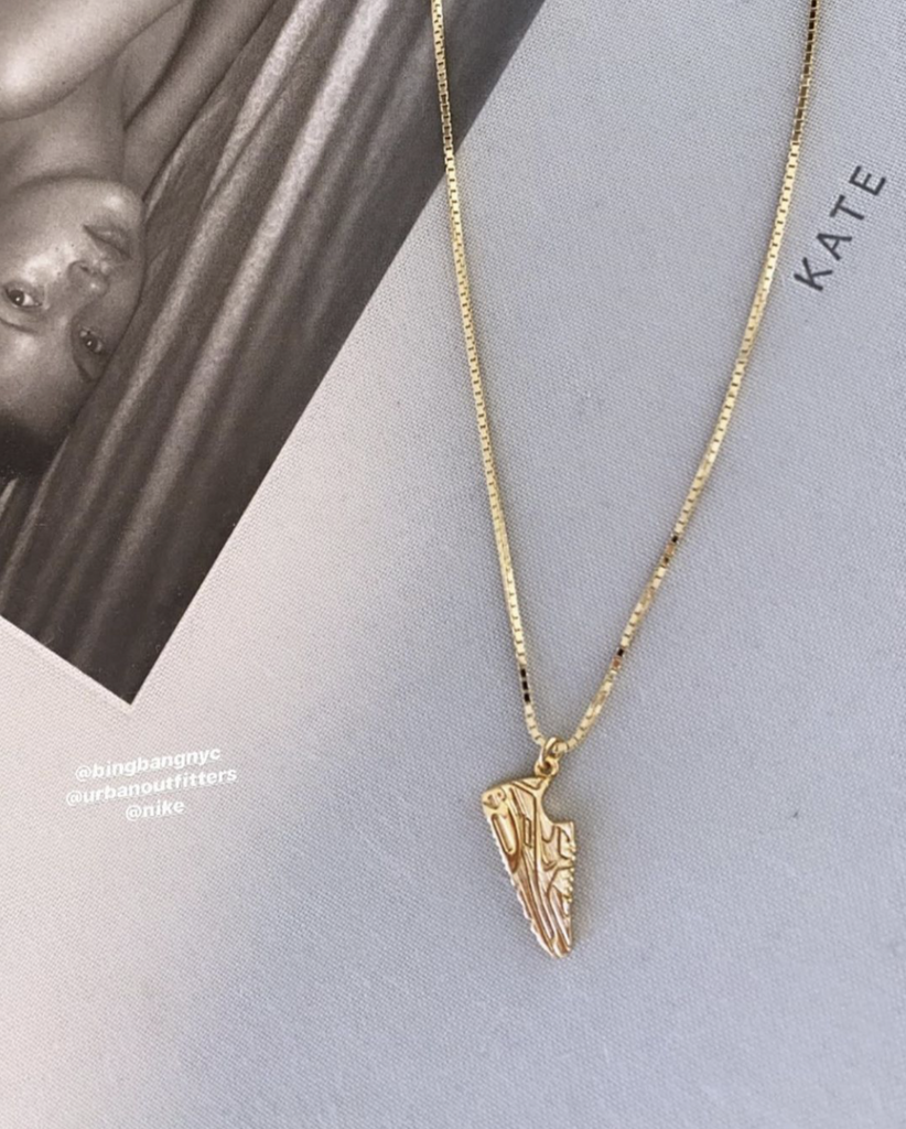 ✔️PRESALE✔️ Air Max Necklace - Bing Bang Jewelry NYC
