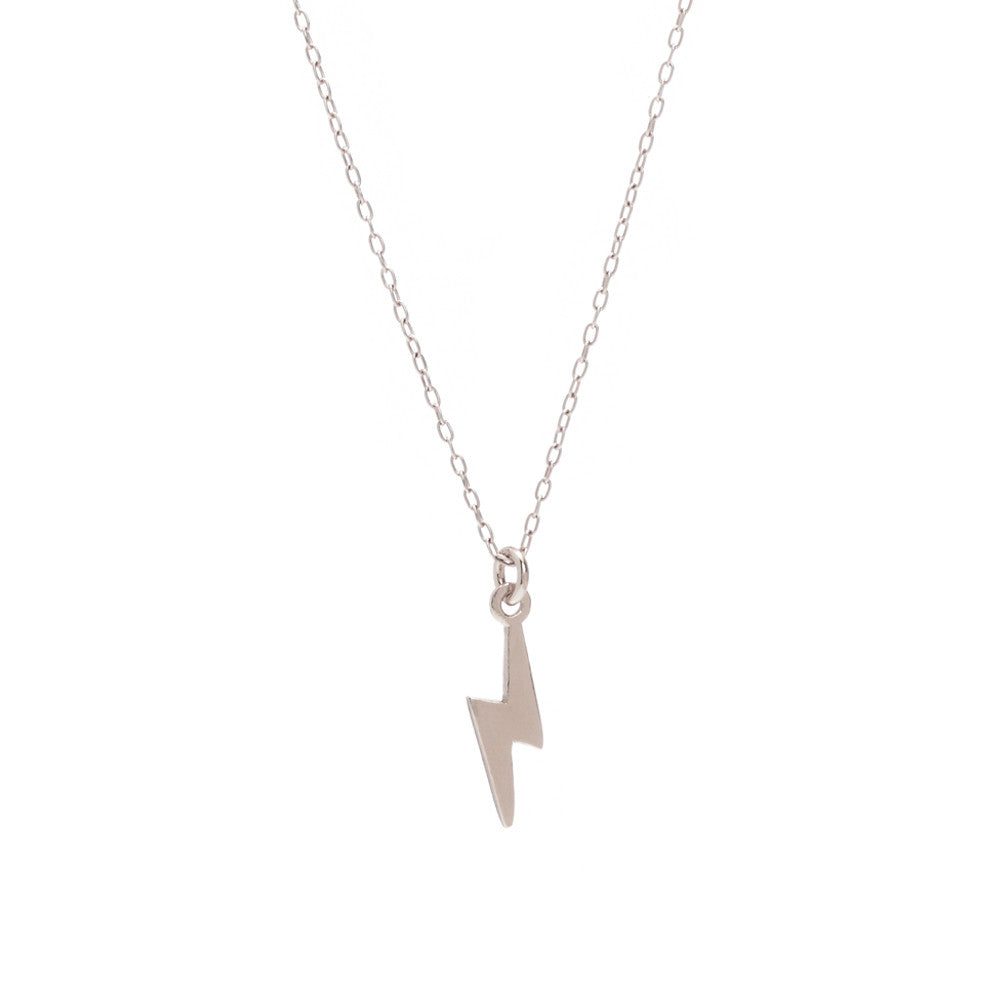 Lightning Bolt Necklace - Bing Bang Jewelry NYC