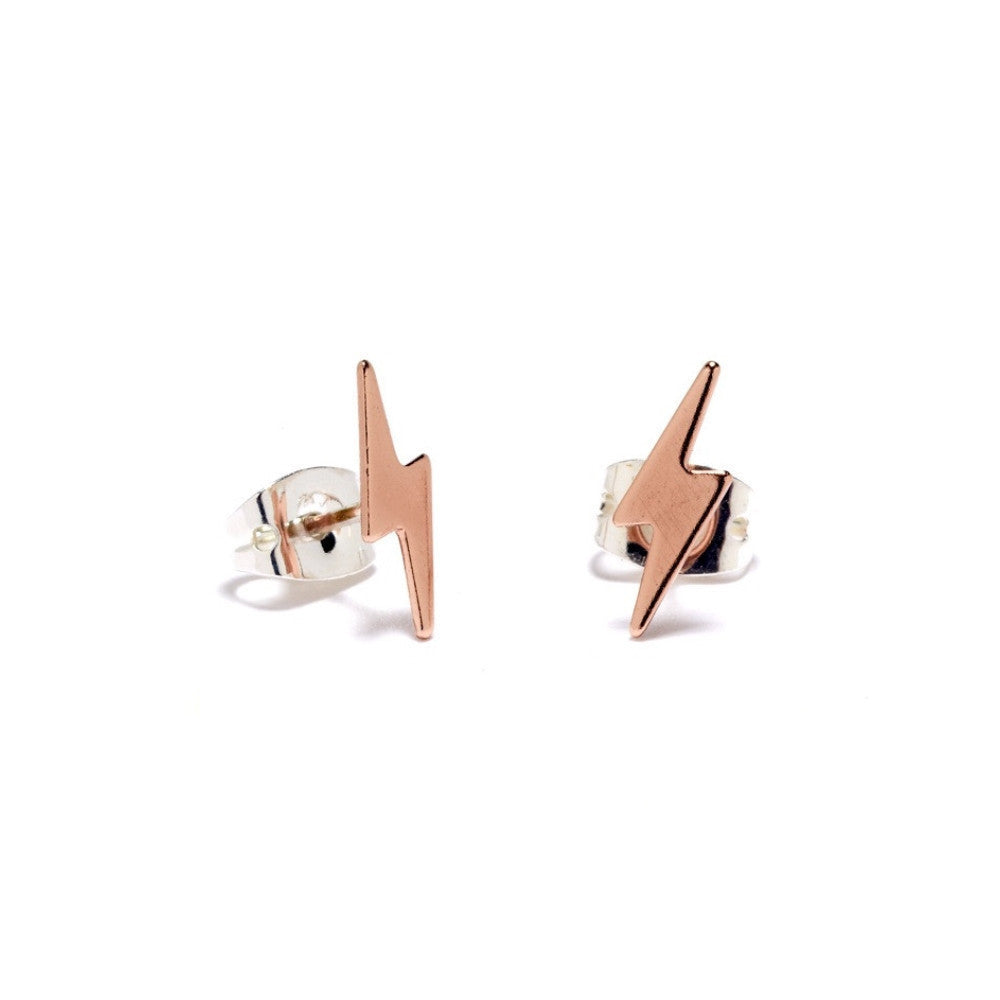 ✨14K Lightning Bolt Stud - Bing Bang NYC