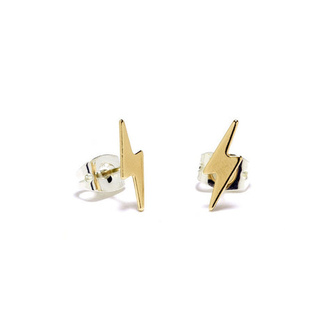 Lightning Bolt Studs - Bing Bang NYC