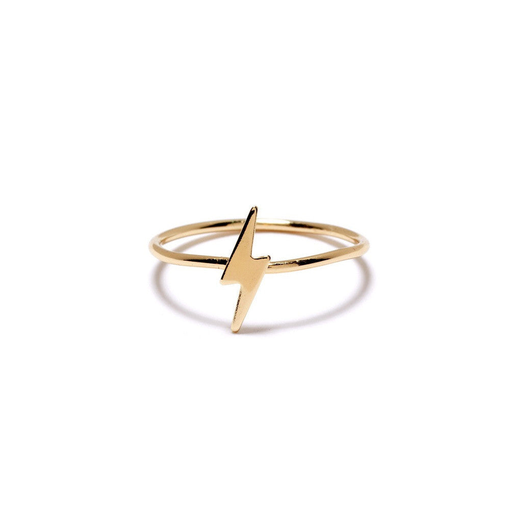 Lightning Bolt Ring - Bing Bang Jewelry NYC