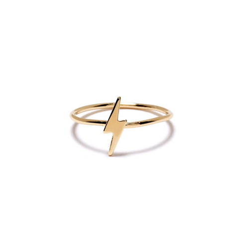 Lightning Bolt Ring - Bing Bang NYC