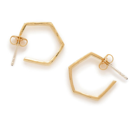 Little Hexagon Hoops - Bing Bang NYC - 1