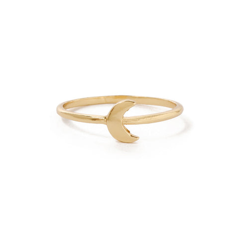 Little Moon Ring - Bing Bang Jewelry NYC