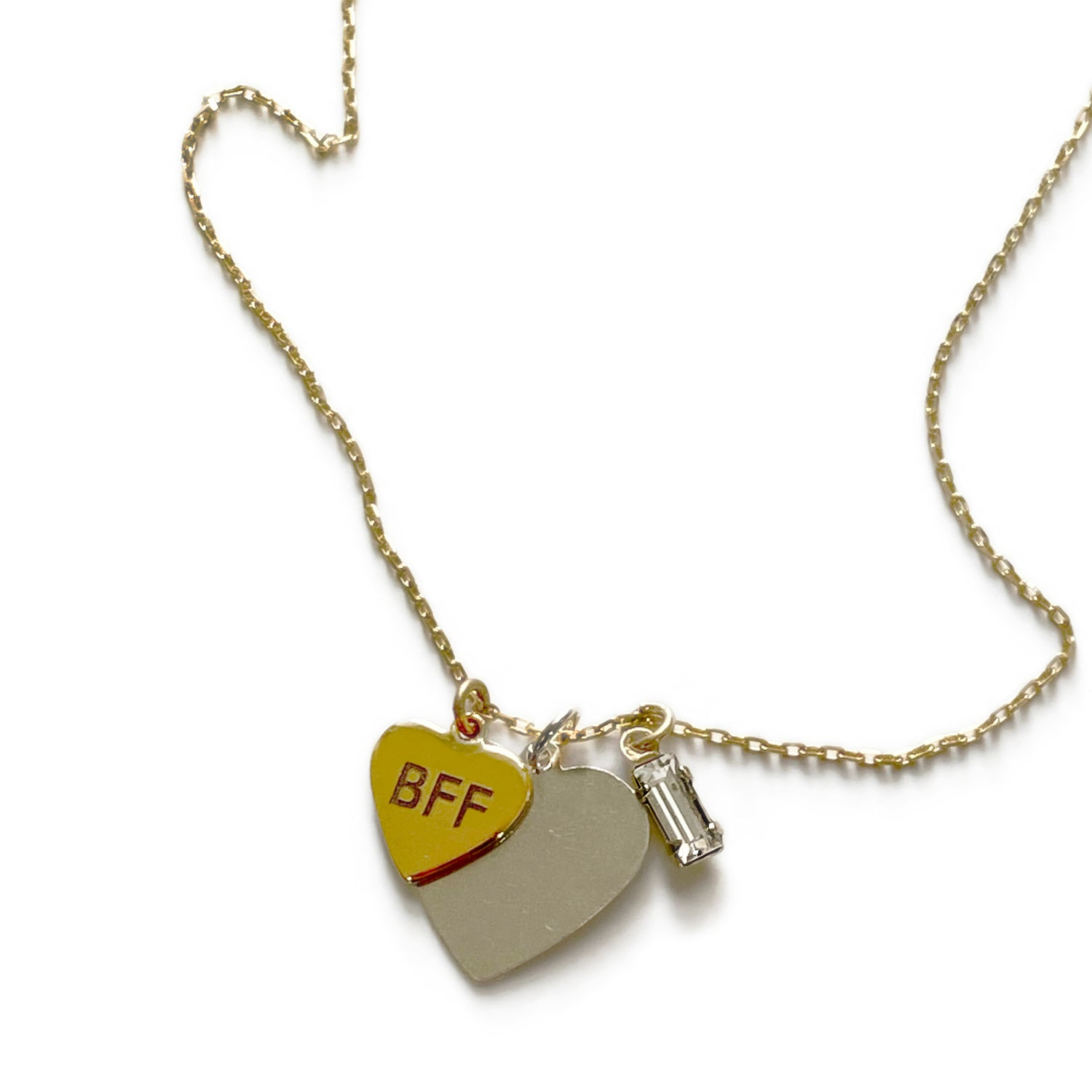 Love Trilogy Charm Necklace - Bing Bang Jewelry NYC
