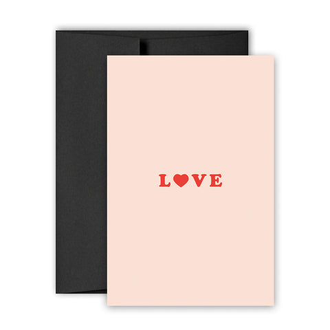 LOVE - Greeting Card - Bing Bang Jewelry NYC