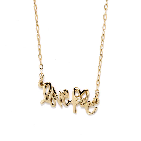 LoveMe Nameplate Necklace - Gold - Bing Bang Jewelry NYC
