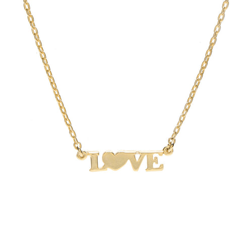 LOVE Necklace - Bing Bang Jewelry NYC