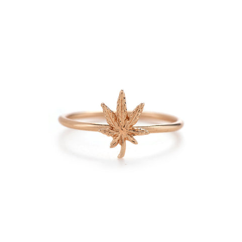Mary Jane Ring - Rose Gold - Bing Bang NYC