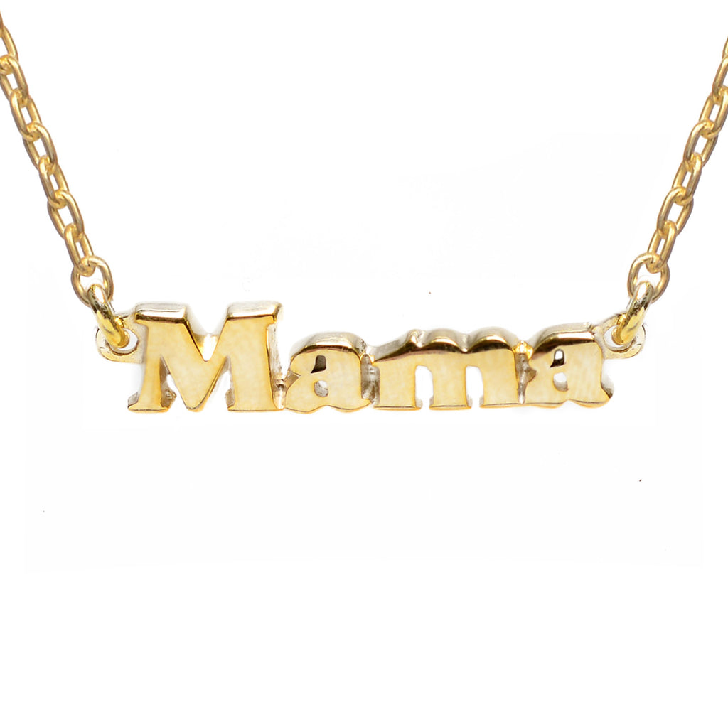 Mama Necklace - Bing Bang Jewelry NYC