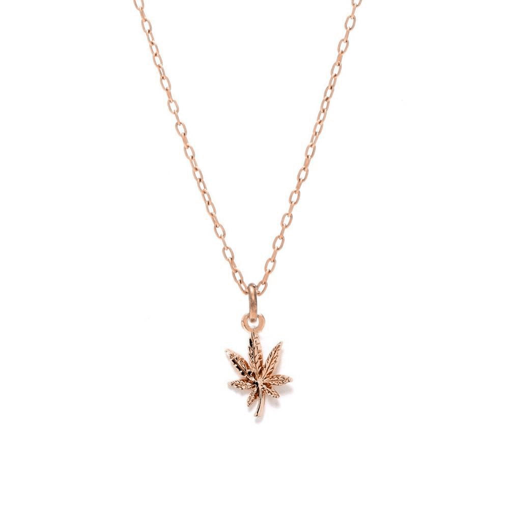 Mary Jane Necklace - Rose Gold - Bing Bang Jewelry NYC