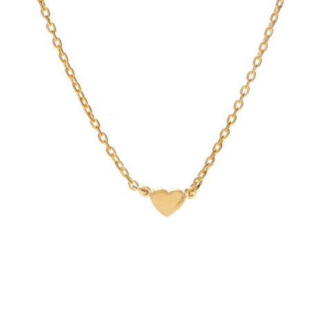 Mini Heart Necklace - Bing Bang NYC - 1