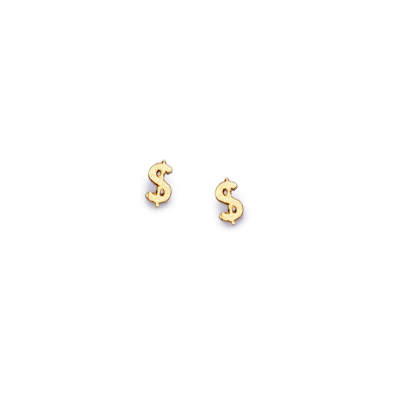 $ Money Sign Stud - Bing Bang Jewelry NYC