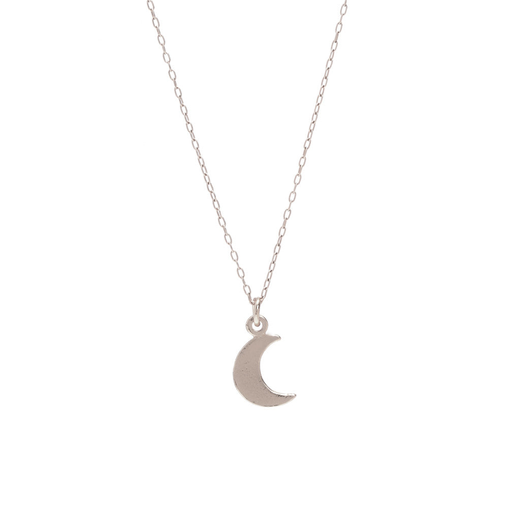 Little Moon Necklace - Bing Bang Jewelry NYC