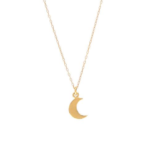 Little Moon Necklace - Bing Bang NYC - 1