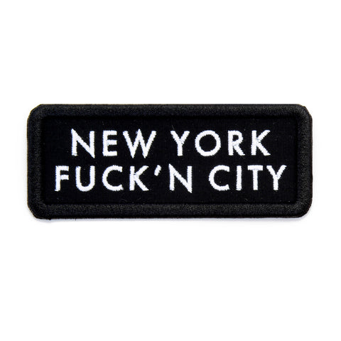 New York Fuck'n City Patch - Bing Bang NYC - 1