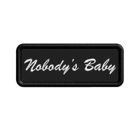 Nobody's Baby Patch - Bing Bang Jewelry NYC