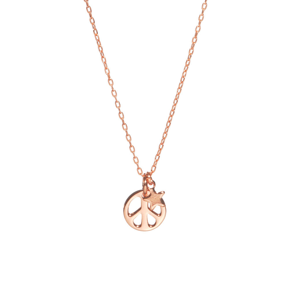 Peace Out Necklace - Bing Bang Jewelry NYC
