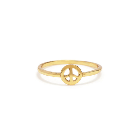 Little Peace Ring - Bing Bang Jewelry NYC
