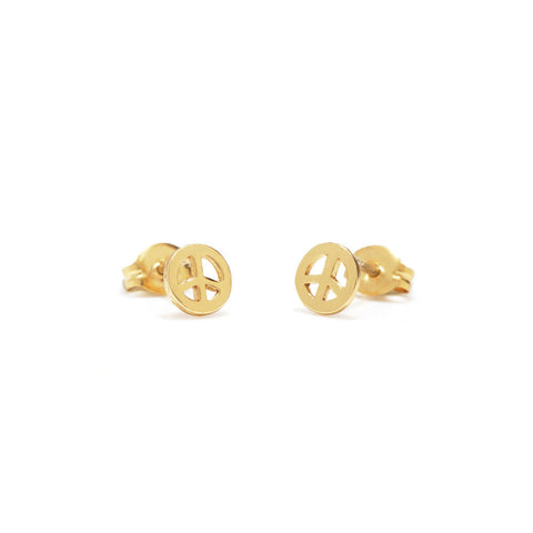 Little Peace Studs - Bing Bang Jewelry NYC