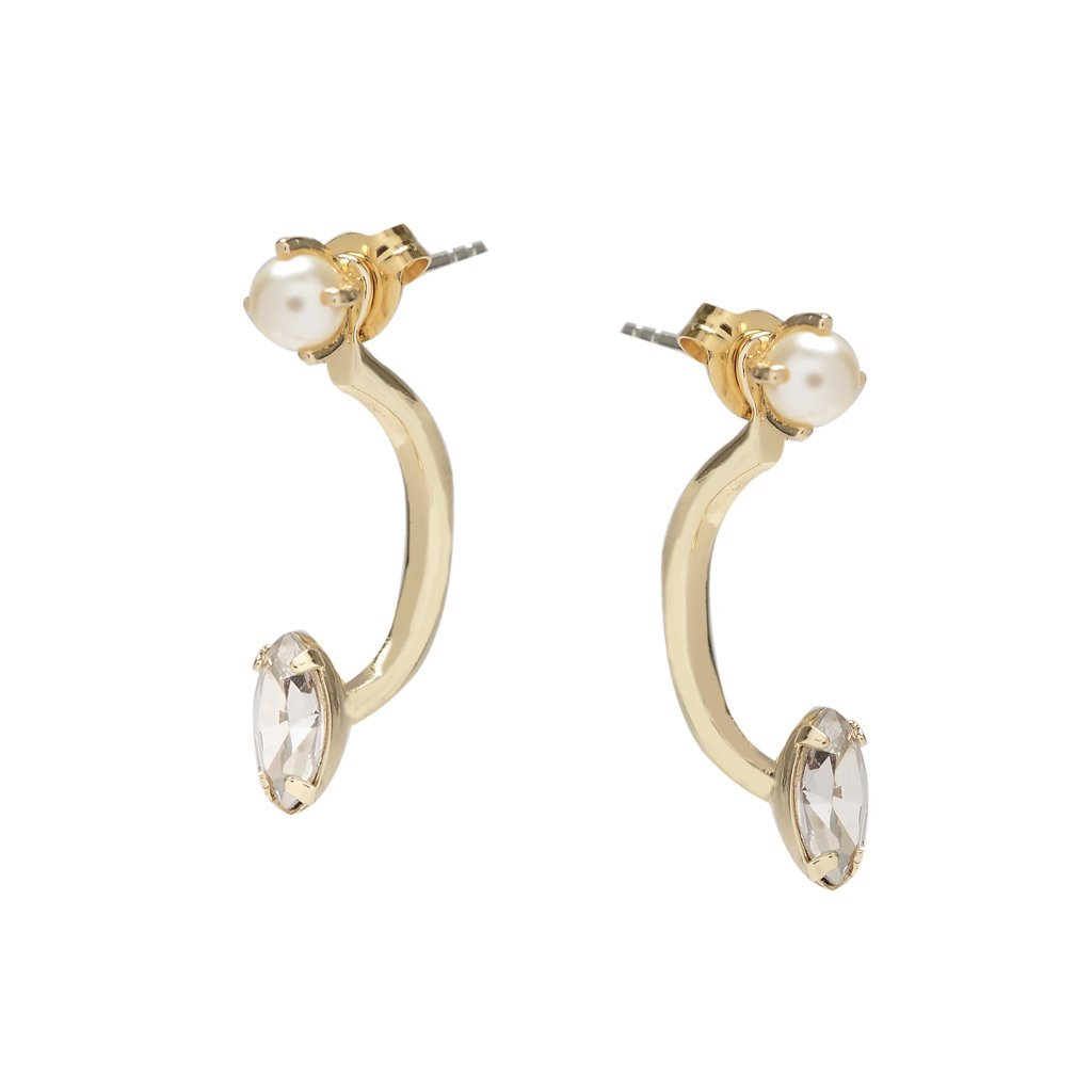 Pearl & Marquis - Ear Jacket - Bing Bang Jewelry NYC