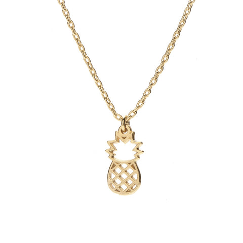 Pineapple Necklace - Bing Bang Jewelry NYC