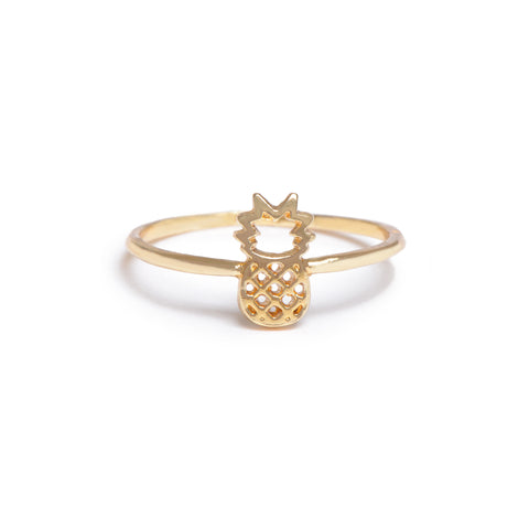 Pineapple Ring - Bing Bang Jewelry NYC