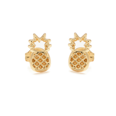 Pineapple Studs - Bing Bang Jewelry NYC