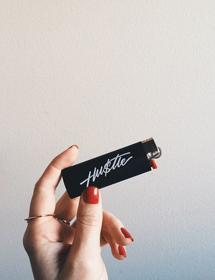 HU$TLE Black Lighter - Bing Bang NYC - 2