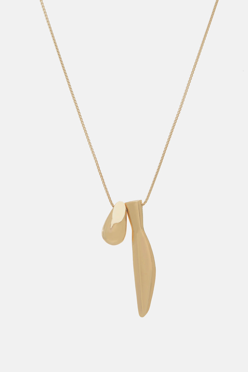 Modernist Duet Necklace - Bing Bang Jewelry NYC