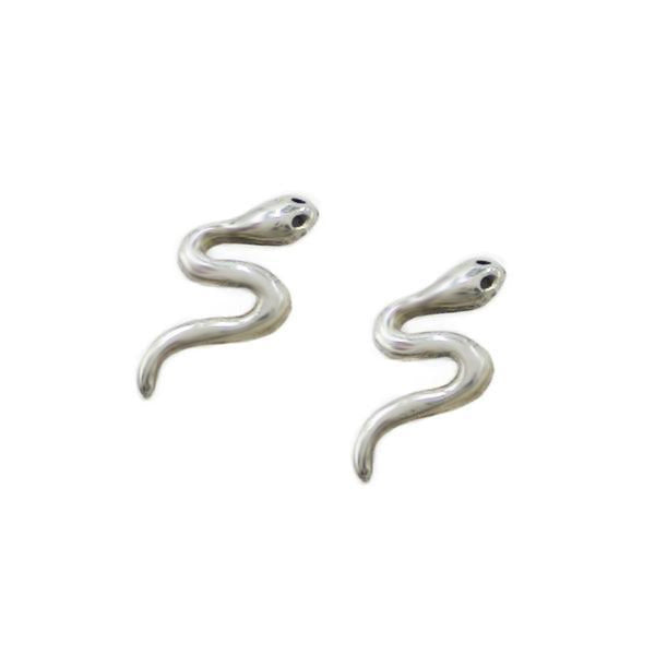Serpent Studs - Bing Bang Jewelry NYC