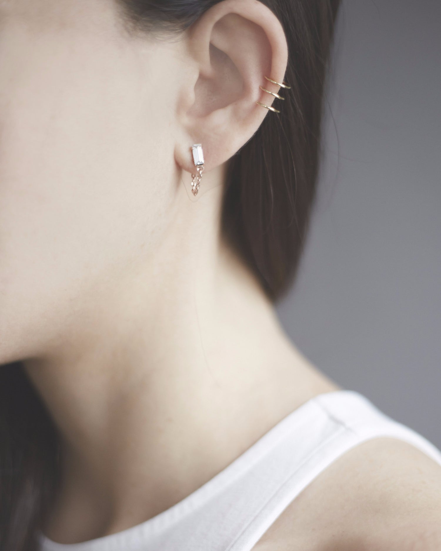 Delicate Caged Ear Cuff - Bing Bang Jewelry NYC
