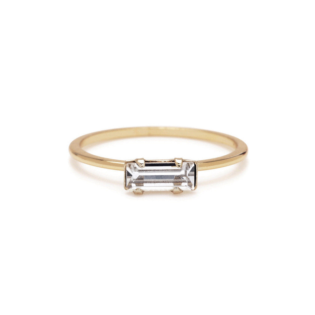 Image result for Baguette rings