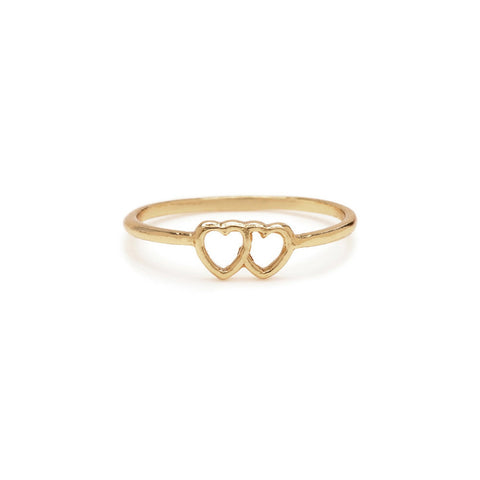 Tiny Loved Up Ring - Bing Bang Jewelry NYC