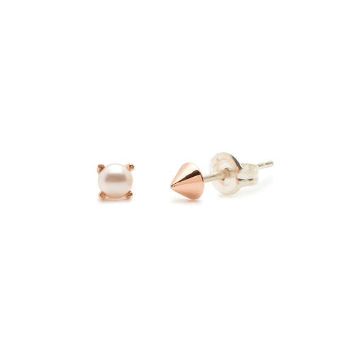 Tiny Pearl & Vivienne Duet - Bing Bang Jewelry NYC