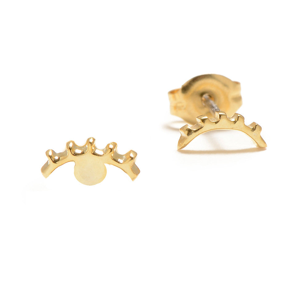 ✨14k - Winking Eye Studs - Bing Bang Jewelry NYC