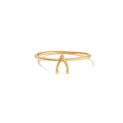 Wishbone Ring - SALE - Bing Bang NYC - 1