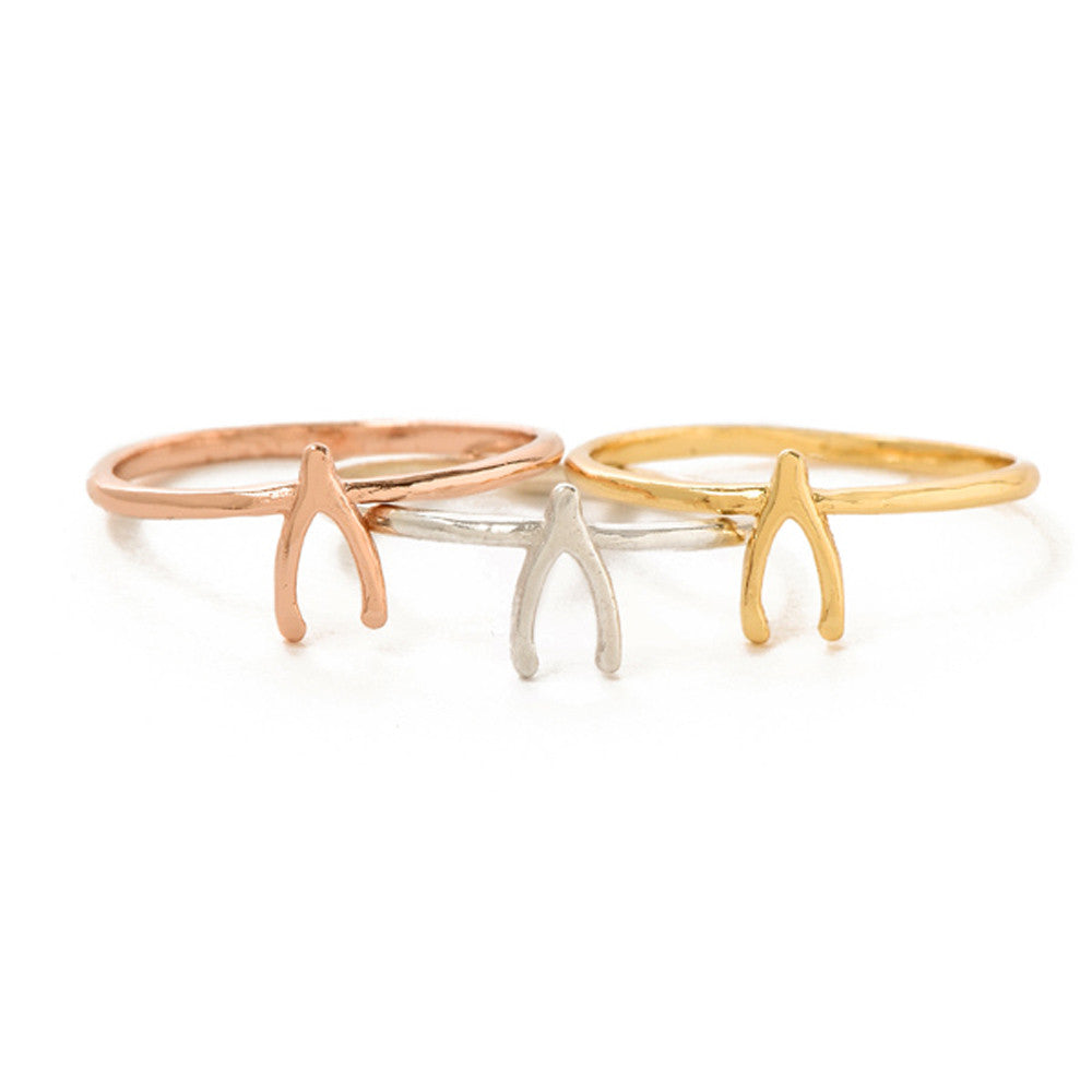 Wishbone Ring - SALE - Bing Bang NYC - 7