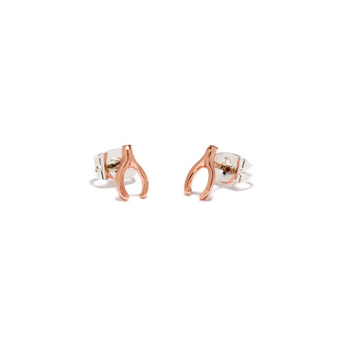 Wishbone Studs - Bing Bang Jewelry NYC