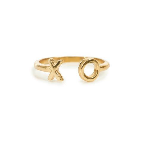 XO Open Ring - Bing Bang Jewelry NYC