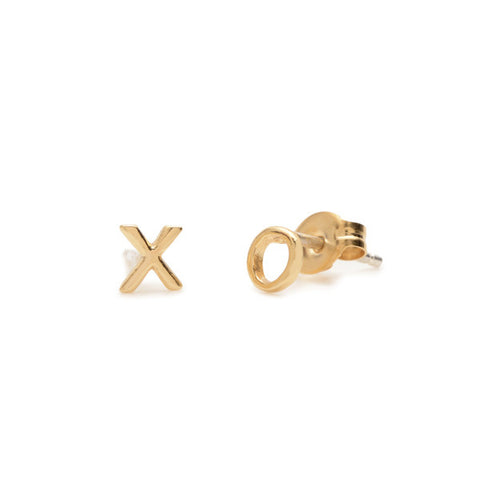 Tiny 'XO' Studs - Bing Bang NYC