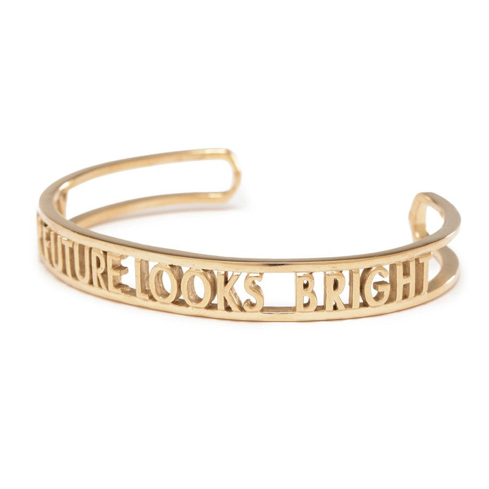 Your Future Looks Bright Cuff - Bing Bang Jewelry NYC