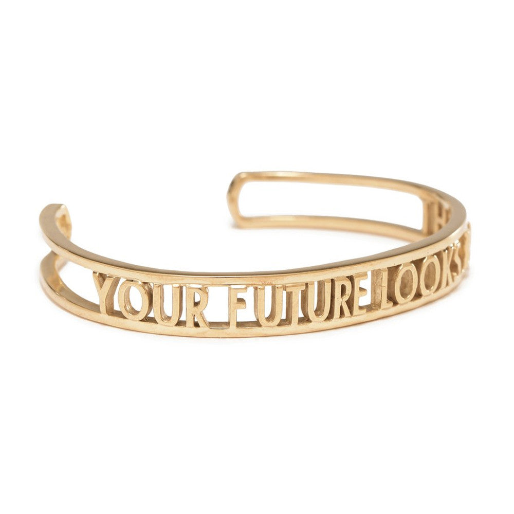 Your Future Looks Bright Cuff - Bing Bang NYC - 1