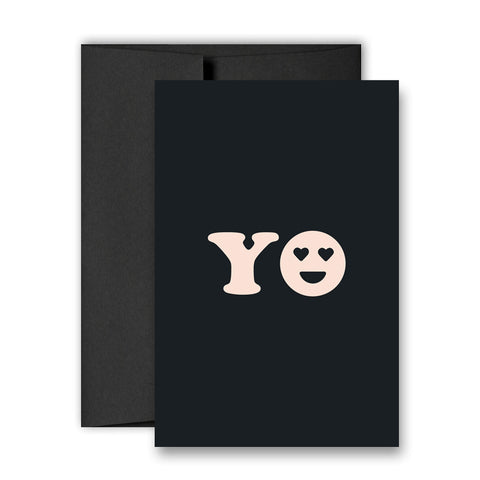 YO - Greeting Card